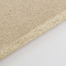 Close-up of moisture-resistant particleboard