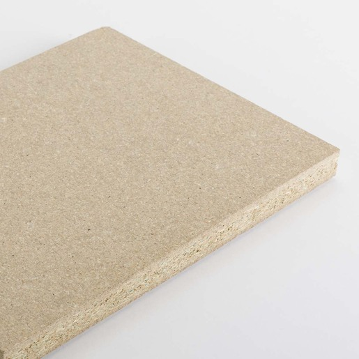 Moisture-resistant particleboard panel
